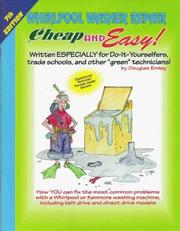 Cover of: Cheap and Easy! Whirlpool Washer Repair