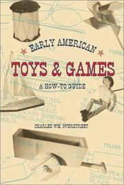 Cover of: Early American Toys & Games