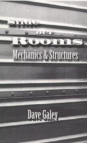 Cover of: Slide Out Rooms, Mechanics and Structures by Dave Galey