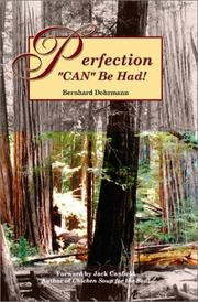 Cover of: Perfection Can Be Had!