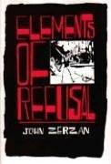 Cover of: Elements of Refusal