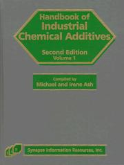 Cover of: Handbook of industrial chemical additives