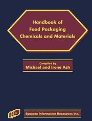 Cover of: Handbook of food packaging chemicals and materials
