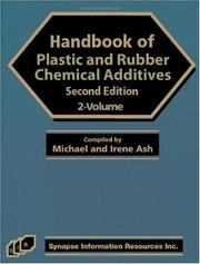 Cover of: Handbook Of Plastic And Rubber Additives