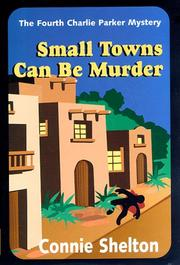 Cover of: Small towns can be murder