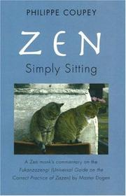 Cover of: Zen: Simply Sitting |