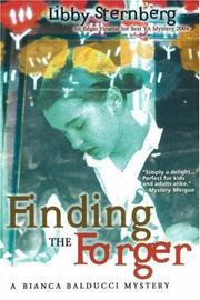 Cover of: Finding the Forger | Libby Sternberg