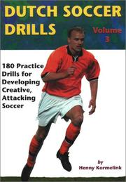 Dutch Soccer Drills by Henny Kormelink