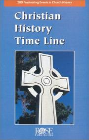 Cover of: Christian History Time Line Pamphlet (10 Pack) (2,000 Years of Christian History at a Glance!)