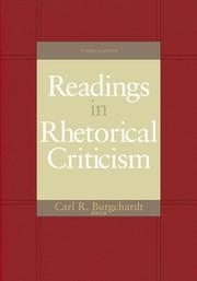 Readings In Rhetorical Criticism