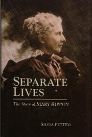 Cover of: Separate lives: the story of Mary Rippon