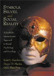 Cover of: Symbols, selves, and social reality