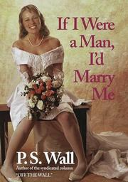 Cover of: If I were a man, I'd marry me
