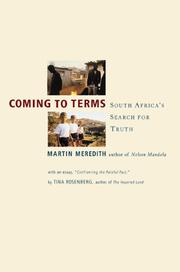 Cover of: Coming to Terms