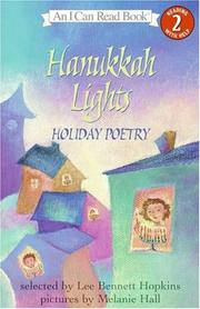 Cover of: Hanukkah Lights: Holiday Poetry (I Can Read Book 2)
