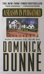 Cover of: A Season in Purgatory | Dominick Dunne