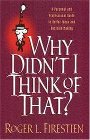Cover of: Why didn
