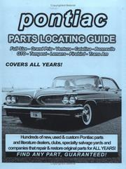 Pontiac / GTO / Tempest / LeMans / Firebird Parts Locating Guide