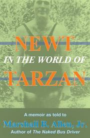 Cover of: Newt in the World of Tarzan | Marshall B. Allen Jr.