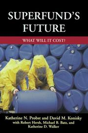 Cover of: Superfund