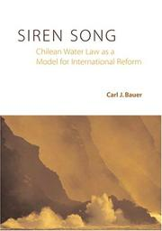 Cover of: Siren song