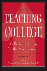 Cover of: Teaching College |
