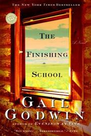 Cover of: The finishing school