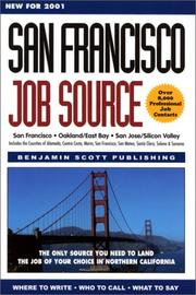 Cover of: San Francisco Job Source- The Only Source You Need to Land the Job of Your Choice in Northern California | Uc-Berkeley Career Center