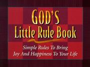 Cover of: God's Little Rule Book