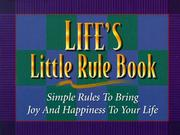 Cover of: Life's Little Rule Book