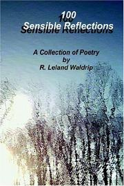 Cover of: 100 Sensible Reflections