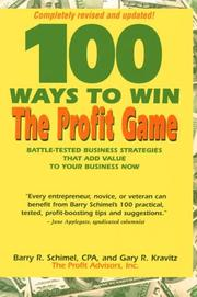 Cover of: 100 ways to win the profit game