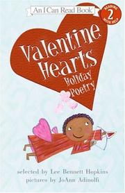 Cover of: Valentine Hearts: Holiday Poetry (I Can Read Book 2)