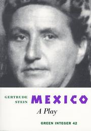 Cover of: Mexico: A Play