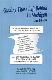 Cover of: Guiding Those Left Behind in Michigan