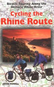 Cover of: Cycling the Rhine Route | John Powell
