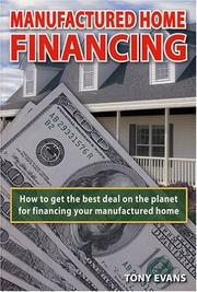 Cover of: Manufactured Home Financing