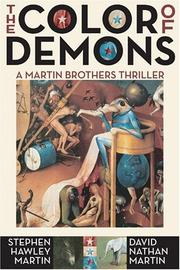 Cover of: The Color of Demons | Stephen Hawley Martin