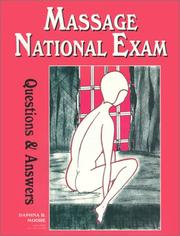Cover of: Massage National Exam Questions and Answers | Daphna R. Moore