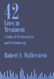 Cover of: Forty-two lives in treatment