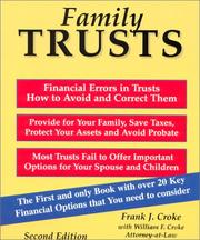 Cover of: Family trusts