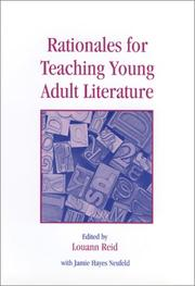 Cover of: Rationales for teaching young adult literature |