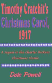 Cover of: Timothy Cratchit's Christmas carol, 1917