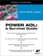 Cover of: Power AOL | Kirk Lafler