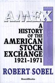 Cover of: AMEX