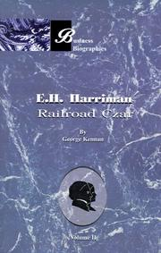 Cover of: E.H. Harriman | George Kennan