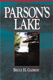 Cover of: Parson's Lake