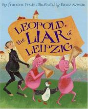 Cover of: Leopold, the liar of Leipzig