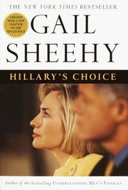 Cover of: Hillary's choice