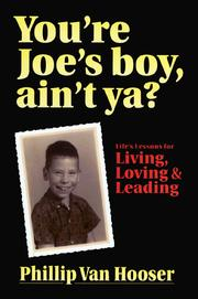 Cover of: You're Joe's boy, ain't ya?